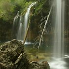 Side view  of Hanging Lake by Daniel Doyle