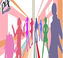 Persona 4 Investigation Team by JamieC94