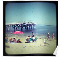 Seaside Malibu Poster