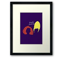 """The AbFab // """"Sweetie Darling"""" Framed Print"""