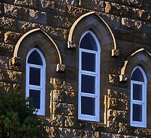 Church  Windows by Ronjohn
