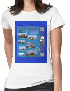 Commission of USS North Carolina   (SSN-777) Womens Fitted T-Shirt