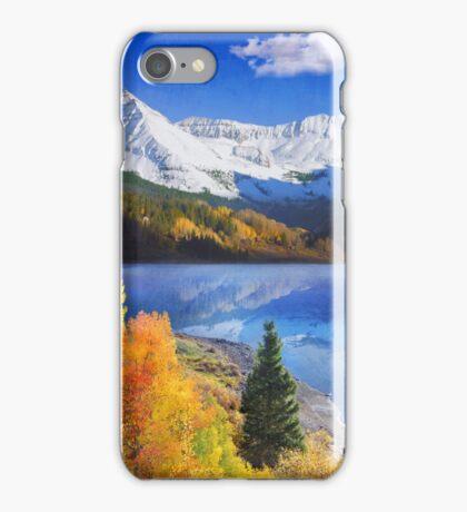 trout lake near telluride colorado iPhone Case/Skin