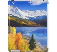 trout lake near telluride colorado iPad Case/Skin