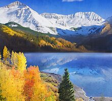trout lake near telluride colorado by R Christopher  Vest