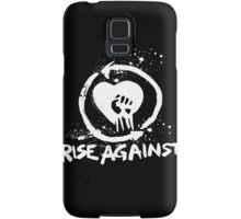 Rise Against-White Samsung Galaxy Case/Skin