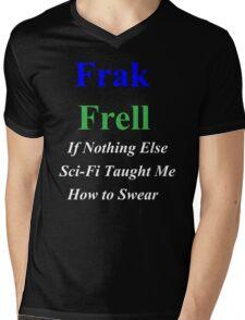 Frak vs. Frell Mens V-Neck T-Shirt
