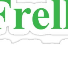 Frak vs. Frell Sticker