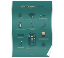 Doctor Who | Items Poster