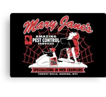 Mary Jane's Pest Control Canvas Print