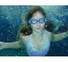 Mer girl Photographic Print