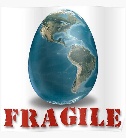 Earth-Fragile Poster