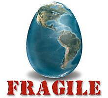 Earth-Fragile Photographic Print