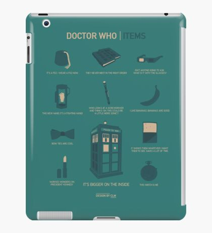 Doctor Who | Items iPad Case/Skin