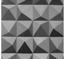 Abstract patterns grey and black by tanabe