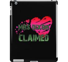 The Walking Dead - Mrs Dixon Claimed 2 iPad Case/Skin