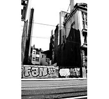 Street Art, Brussels  Photographic Print