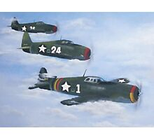 Bombers in flight Photographic Print