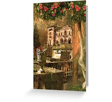 Ode to Maxfield Parrish Greeting Card