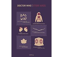 Doctor Who | Story Arcs Photographic Print