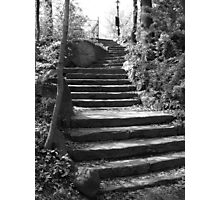Steps into the past Photographic Print