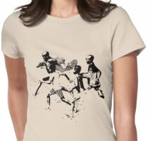 Soccer game Womens Fitted T-Shirt