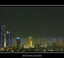 Gold Coast Panorama by proimageprints