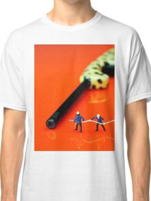 Fire Fighters And Fire Gun Classic T-Shirt