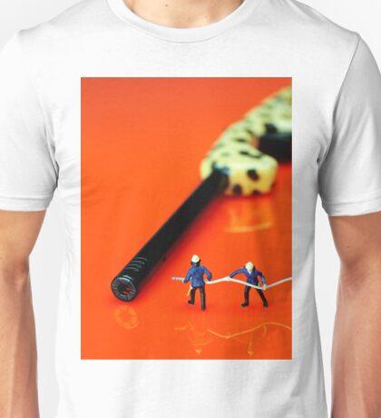 Fire Fighters And Fire Gun Unisex T-Shirt
