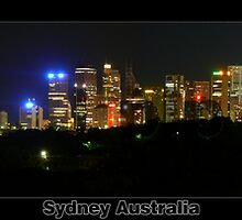 Sydney Panorama 15 x 60inch inch print by proimageprints