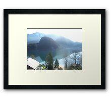 View of Lake Wofgangsee - St Gilgen Austria Framed Print
