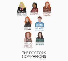 Doctor Who | Companions (alternate version) T-Shirt