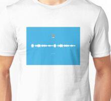 Fan Chants - Manchester City FC - Blue Moon Unisex T-Shirt