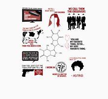 Fringe Quotes Unisex T-Shirt