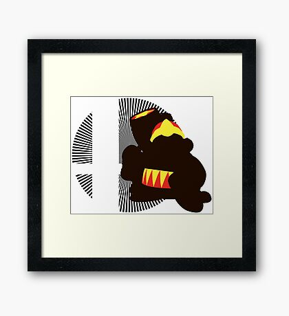 King Dedede - Sunset Shores Framed Print