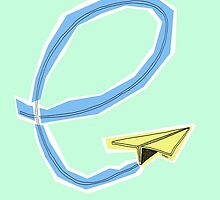 Paper Airplane 90 by YoPedro