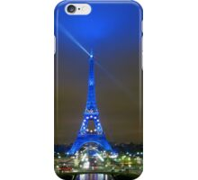 La Tour Eiffel En Bleu iPhone Case/Skin