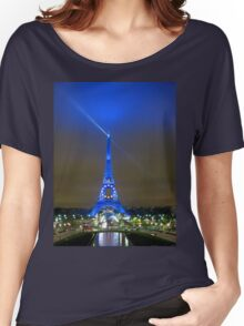 La Tour Eiffel En Bleu Women's Relaxed Fit T-Shirt
