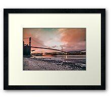 Lions gate bridge, Vancouver Framed Print