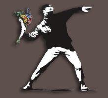 Banksy Anarchist One Piece - Short Sleeve