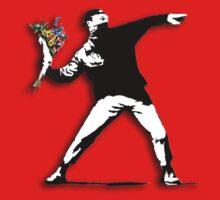 Banksy Anarchist by Léo Gonsalves