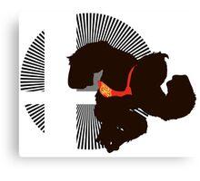 Donkey Kong - Sunset Shores Canvas Print