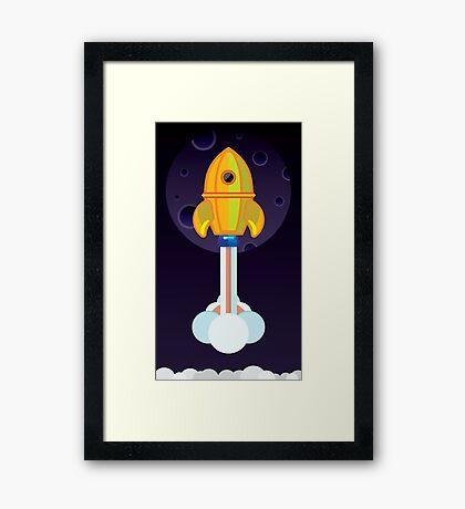 Exploration Framed Print