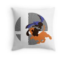 Duck Hunt - Sunset Shores Throw Pillow