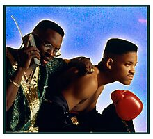Fresh Prince with Jazz Photographic Print