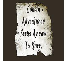 Lonely Adventurer Photographic Print