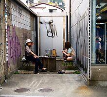 Lazy Sunday in Harajuku by John Kung