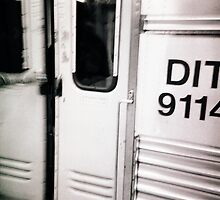 DIT 9114 (detainee intertransport train) dock #9114 by Juilee  Pryor