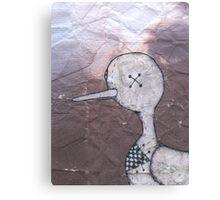 Worn Sand Piper Canvas Print