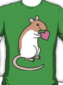 Sweet Ratty Valentine  T-Shirt